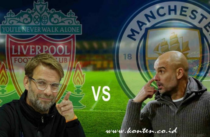 Liverpool vs Manchester City Saling Jegal di Etihad