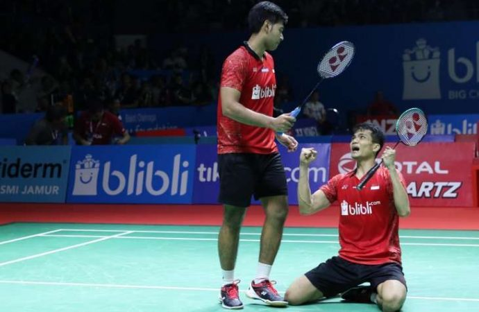 Berlaga di Final India Open, Indonesia Berpeluang Juara Umum