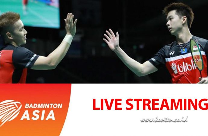 Link Live Streaming Final Asia Championship, Kevin/Marcus