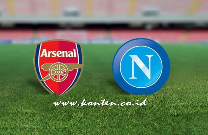 Link Nonton Video Live Streaming Arsenal vs Napoli