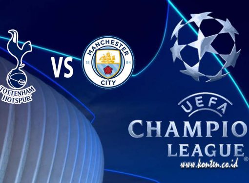 Live Streaming Liga Champions Tottenham vs Manchester City