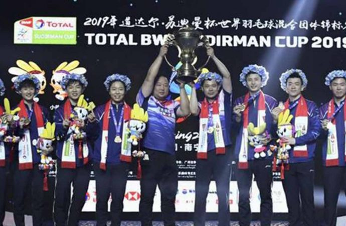 China Juara Piala Sudirman 2019