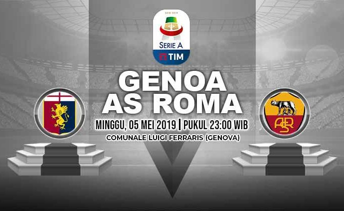Link Live Streaming Liga Italia AS Roma Vs Genoa