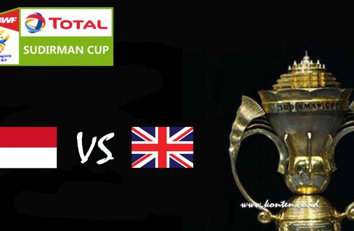 Link Live Streaming Sudirman Cup 2019, Indonesia Vs Inggris