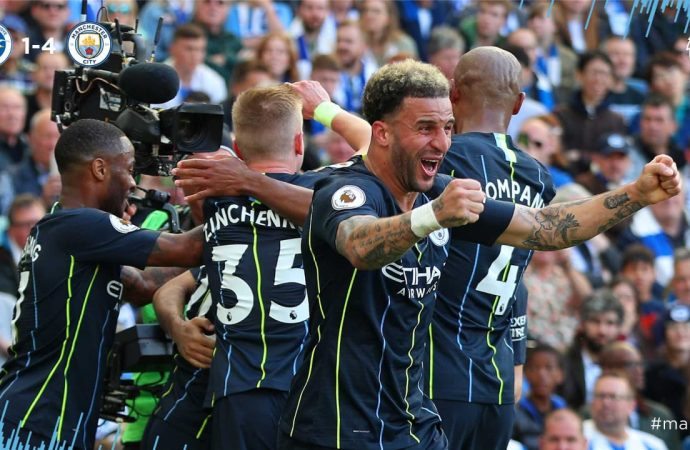 Manchester City Juara Premier League 2019