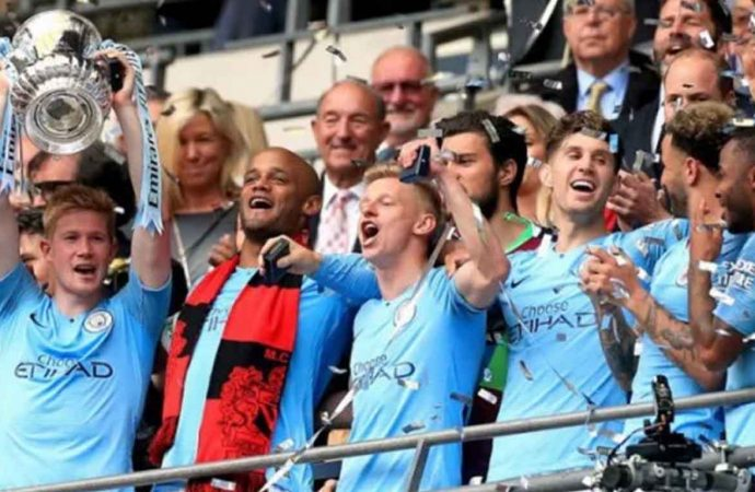 Manchester City Raih Trebble Winner