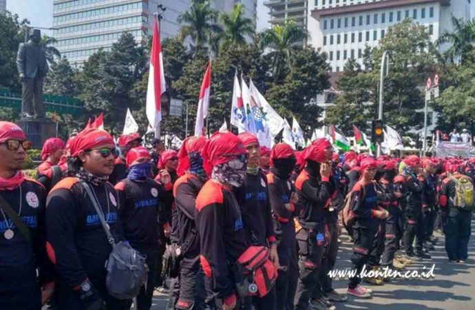May Day Dijaga 30 Ribu Polisi