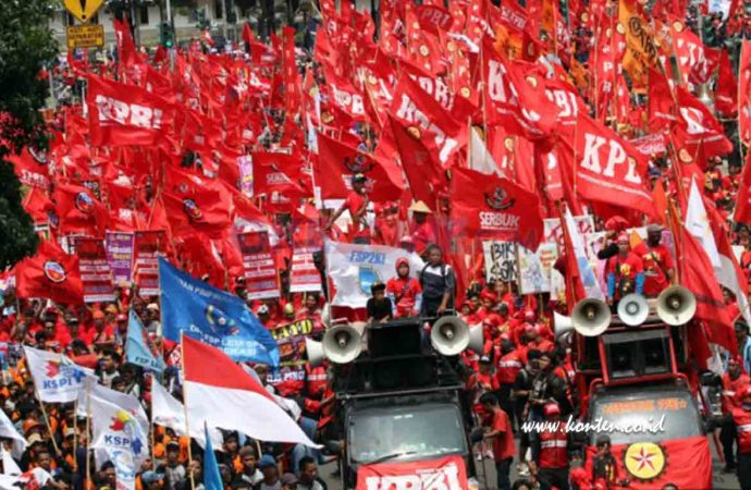Tuntutan Buruh di May Day