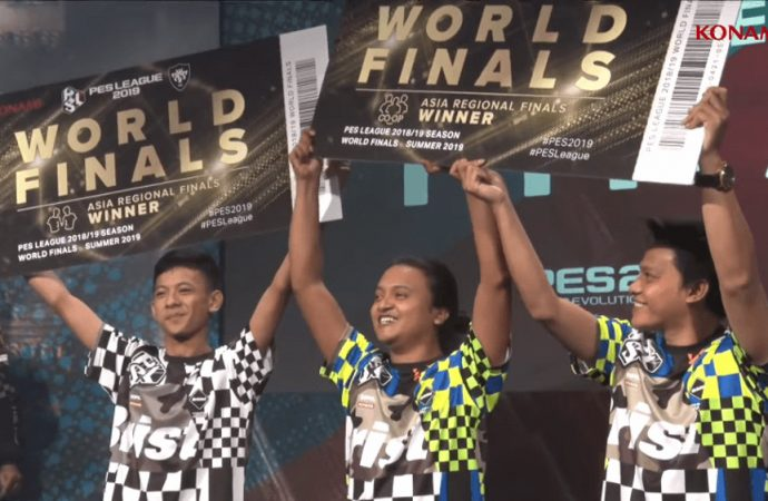 Indonesia Kirim 3 Wakil di PES League 2019 World Finals