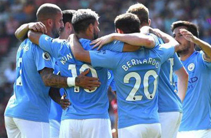 Hasil Pertandingan Bournemouth vs Manchester City