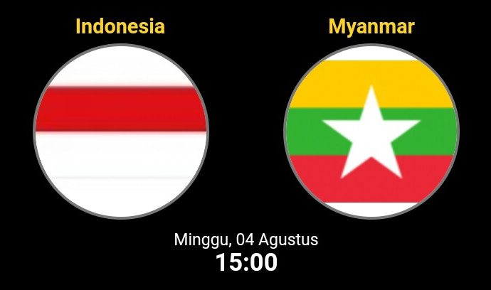 Link Live Streaming Piala AFF U-15 2019 Indonesia vs Myanmar