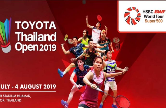 Link Live Streaming Babak Kedua Thailand Open 2019 di HP