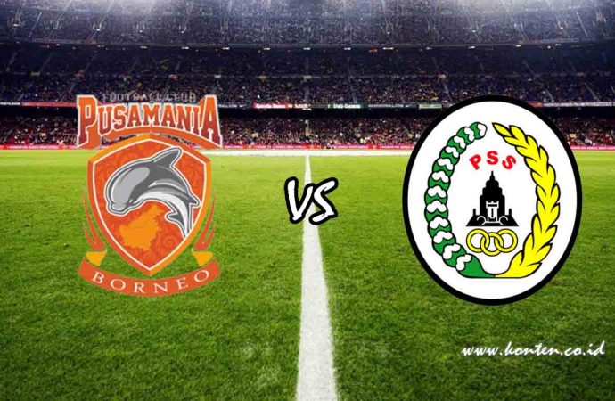 Link Live Streaming Borneo FC vs PSS Sleman di HP