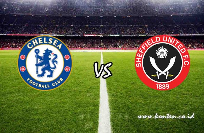 Link Live Streaming Chelsea vs Sheffield United di HP