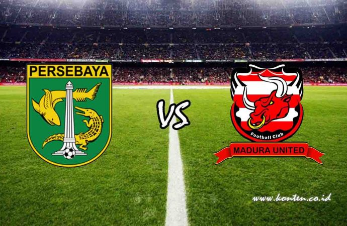 Link Live Streaming Persebaya Surabaya vs Madura United di Hp