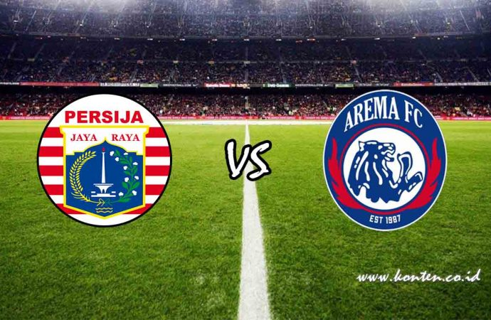Link Live Streaming Persija vs Arema FC di HP