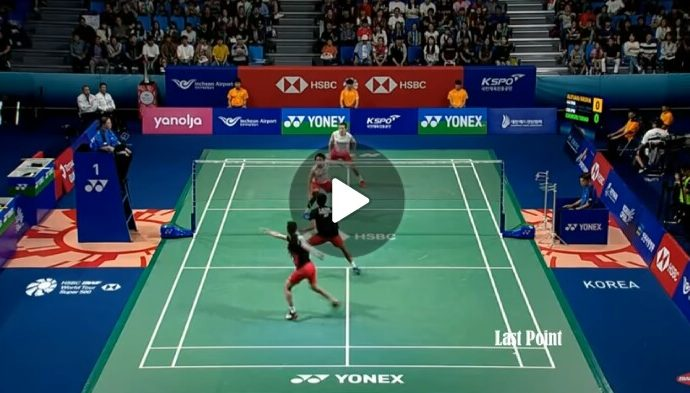 Video Highlight Pertandingan Final Ganda Putra Korea Open 2019
