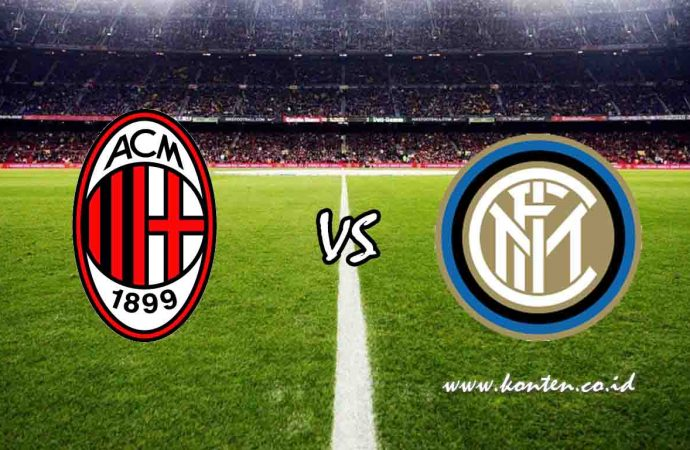 Link Live Streaming AC Milan vs Inter Milan di HP