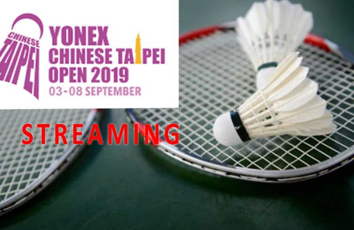 Link Live Streaming Babak 16 Besar Taipei Open 2019