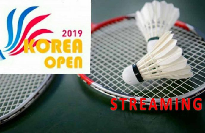 Link Live Streaming Semifinal Badminton Korea Open 2019
