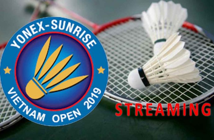 Link Live Streaming Babak Kedua Badminton Vietnam Open 2019 di HP dan PC
