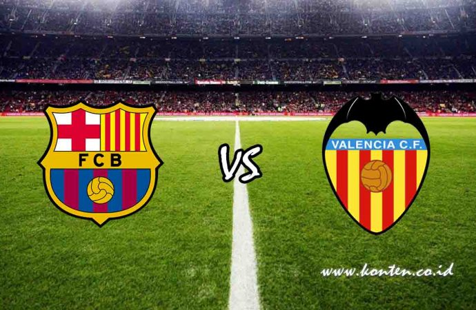 Link Live Streaming FC Barcelona vs Valencia CF di HP