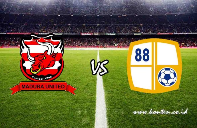 Link Live Streaming Madura United vs Barito Putera di HP