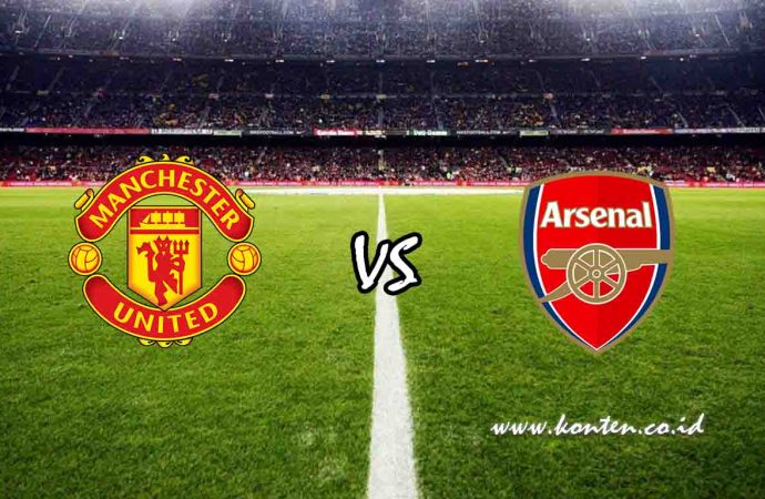 Link Live Streaming Manchester United vs Arsenal di HP