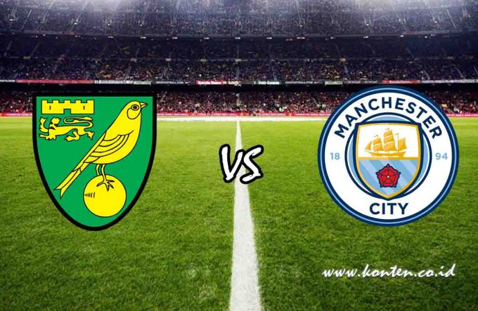 Link Live Streaming Norwich City vs Manchester City di HP