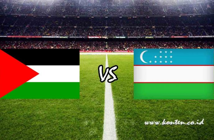 Link Live Streaming Palestina vs Uzbekistan