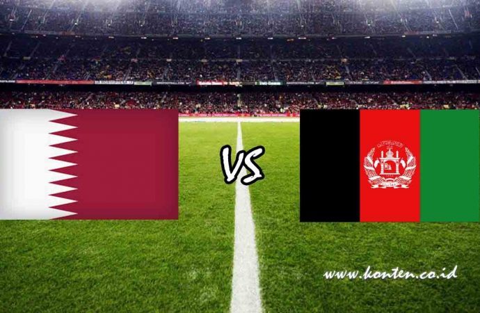 Link Live Streaming Qatar vs Afghanistan