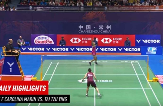Video Hasil Pertandingan Final China Open 2019, Carolina Marin Vs Tai Tzu Ying