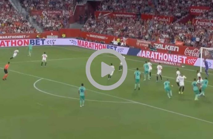 Video Hasil Pertandingan Sevilla vs Real Madrid Tadi Malam