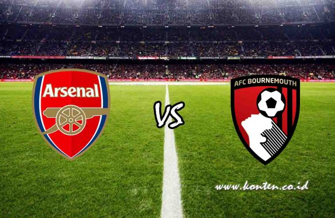 Link Live Streaming Arsenal vs Bournemouth di HP