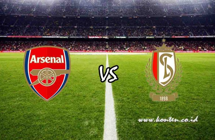 Link Live Streaming Arsenal vs Standard Liege di HP