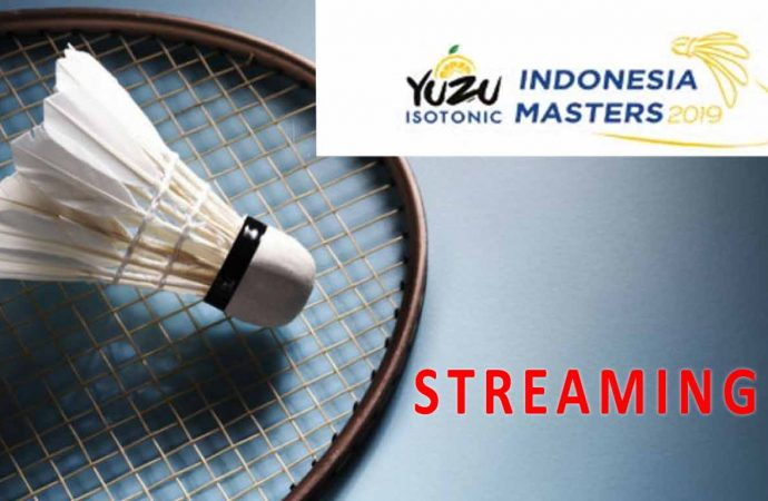 Link Live Streaming Semifinal Badminton Indonesia Master 2019