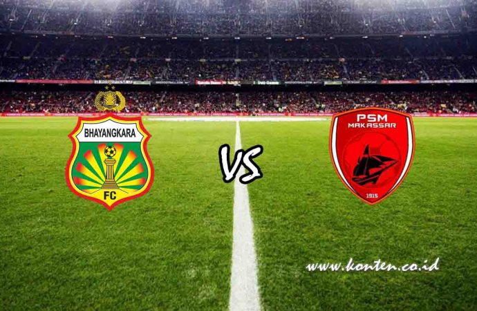 Link Live Streaming Bhayangkara FC vs PSM Makassar di HP