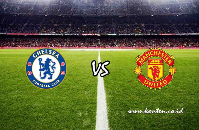 Link Live Streaming Chelsea vs Manchester United di HP