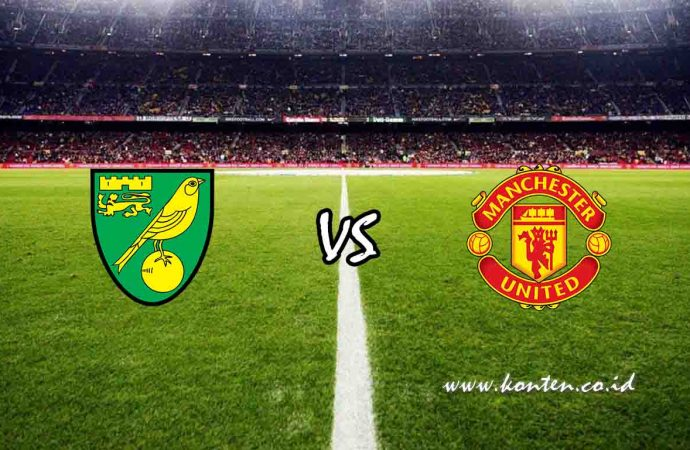 Link Live Streaming Norwich City vs Manchester United di HP