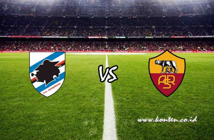 Link Live Streaming Sampdoria vs AS Roma Hari Ini di HP