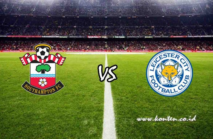 Link Live Streaming Southampton vs Leicester City di HP