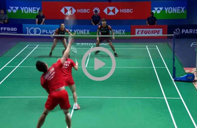 Video Hasil Pertandingan Final French Open 2019 Ganda Campuran, Praven/Melati Juara